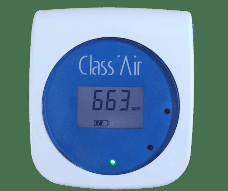 capteur co2 class'air qualité de l'air intérieur sonde ndir